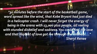 Kobe Bryant Pregame Tribute and Anthem, Pepsi Center 1/26/20. Nuggets vs Rockets. Sheryl Renee.