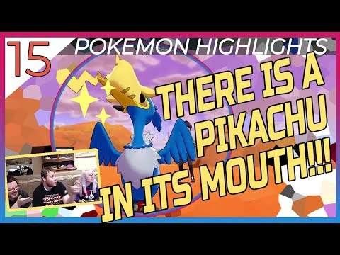 PIKACHU IN ITS MOUTH!!? - Pokemon Highlights 15