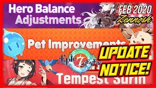 Epic 7 - New Update Discussion! Amazing Hero Balances + Pet Improvements! New Summon Banners!