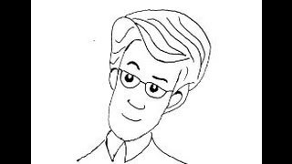 Fix-man. Fixiki. How to draw a easy? (Фиксики. Папа ДимДимыча. Как нарисовать просто?)(, 2013-09-27T21:26:29.000Z)