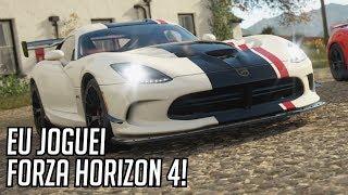 FORZA HORIZON 4 - Eu Joguei! Gameplay em TODAS as Estações! (Xbox One X em 4K - E3 2018)