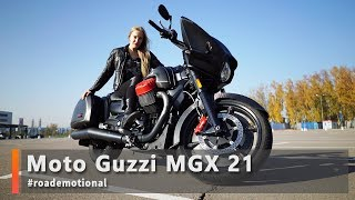 Moto Guzzi MGX 21 Flying Fortress (Тест от Ксю) / Roademotional