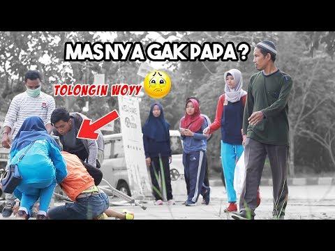 AJAIB ? ORANG PINCANG BISA LARI, SOCIAL EXPERIMENT X PRANK - PRANK INDONESIA