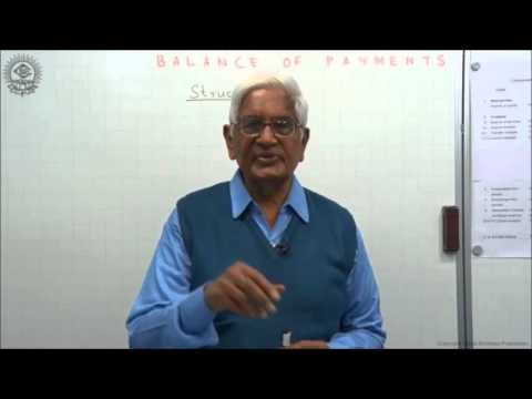 Balance of payments Class XII Economics by S K Agarwala