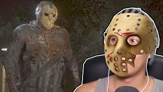 VIREI O JASON ZUMBI - Friday the 13th The Game