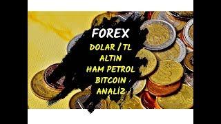 FOREKS DOLARTL ALTIN PETROL BITCOIN TEKNİK ANALİZ (Technical Analysis / Forex Price Action)