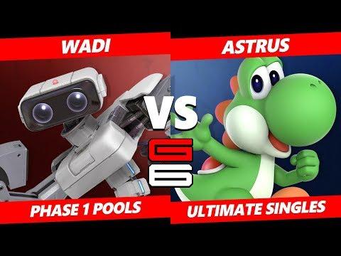 Genesis 6 SSBU -  WaDi (ROB) VS  Astrus (Yoshi) Smash Ultimate Pools