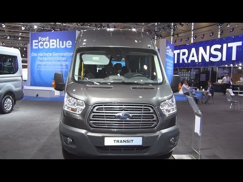 Ford Transit Bus Trend 460 L4H3 2.2 TDCi (2017) Exterior and Interior in 3D