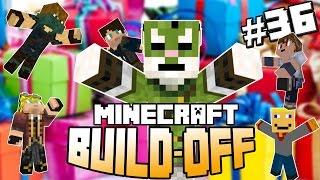 Minecraft Build Off #36 - CADEAUTJES VOOR HARM!
