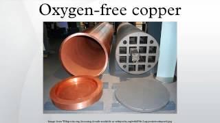Oxygen-free copper