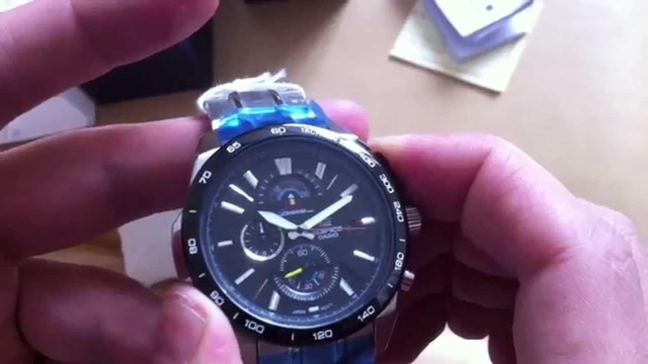 218f87d88be Casio Edifice EFR-520 RED BULL RACING LIMITED EDITION Chronograph - YouTube