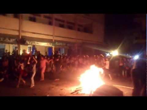 Đốt lửa trại trường THPT Phan Ngọc Hiển (24/3/2013)