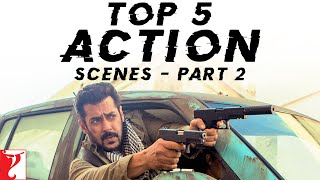 Top 5 Action Scenes - Part 2 | Chase Sequences | Hrithik, Tiger, Salman, Katrina, Aamir, Abhishek