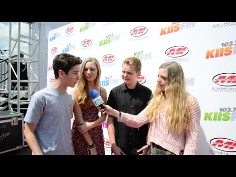 with the stars of Earth to Echo at Wango Tango Village 2014