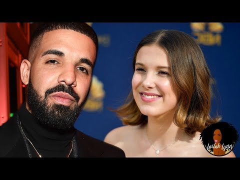 "Drake Questioned For Texting ""Dating Advice"" To 14yo Actress Millie Bobby Brown"
