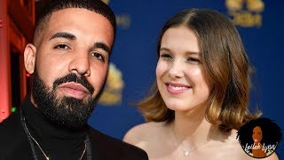 "Drake Accused Of ""Grooming"" 14yo Actress Millie Bobby Brown By Sending Her Questionable Texts"