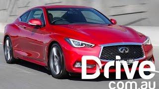 2017 infiniti q60 red sport review   drive com au