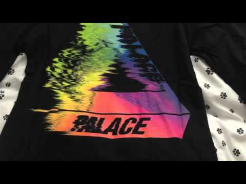 78962e13 Palace Skateboards SS16 Tri-Smudge L/S T-Shirt Unboxing and Review - YouTube