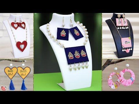 10 Stylish DIY Jewelry Ideas Making !!! Handmade Jewelry