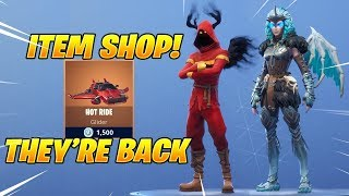 *NEW* VALKYRIE & CLOAKED SHADOW SKINS Are Back! Fortnite Item Shop February 13, 2019
