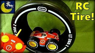 Little Tikes RC Tire Twister Remote Control Car for Toddlers! RC Wheelz!