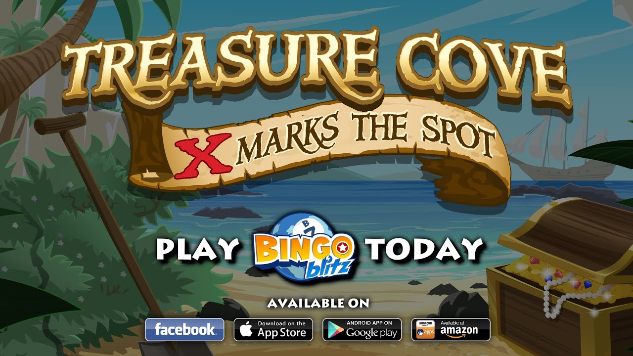 Treasure Cove Bingo