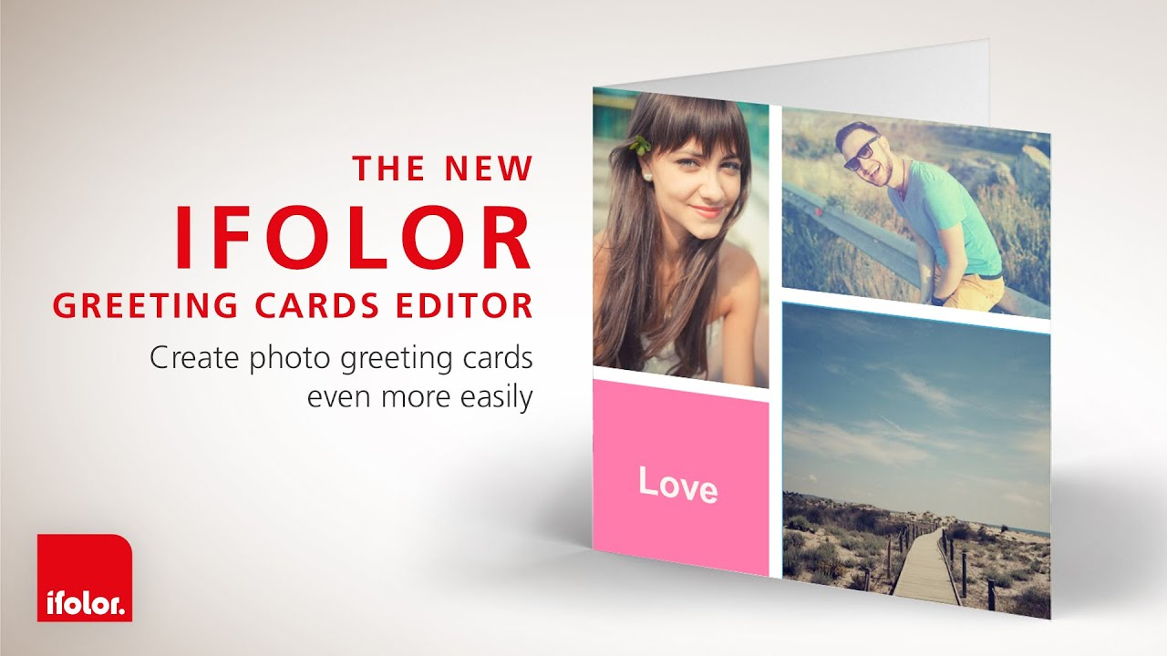 The New Ifolor Greeting Cards Editor Youtube