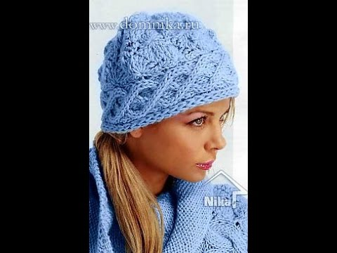 ВЯЖЕМ сами ЖЕНСКИЕ ШАПКИ спицами - 2017 / Knitting needles themselves Womens hats