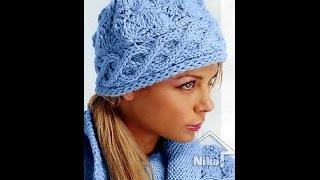 ВЯЖЕМ сами ЖЕНСКИЕ ШАПКИ спицами - модели 2019 / Knitting needles themselves Women's hats