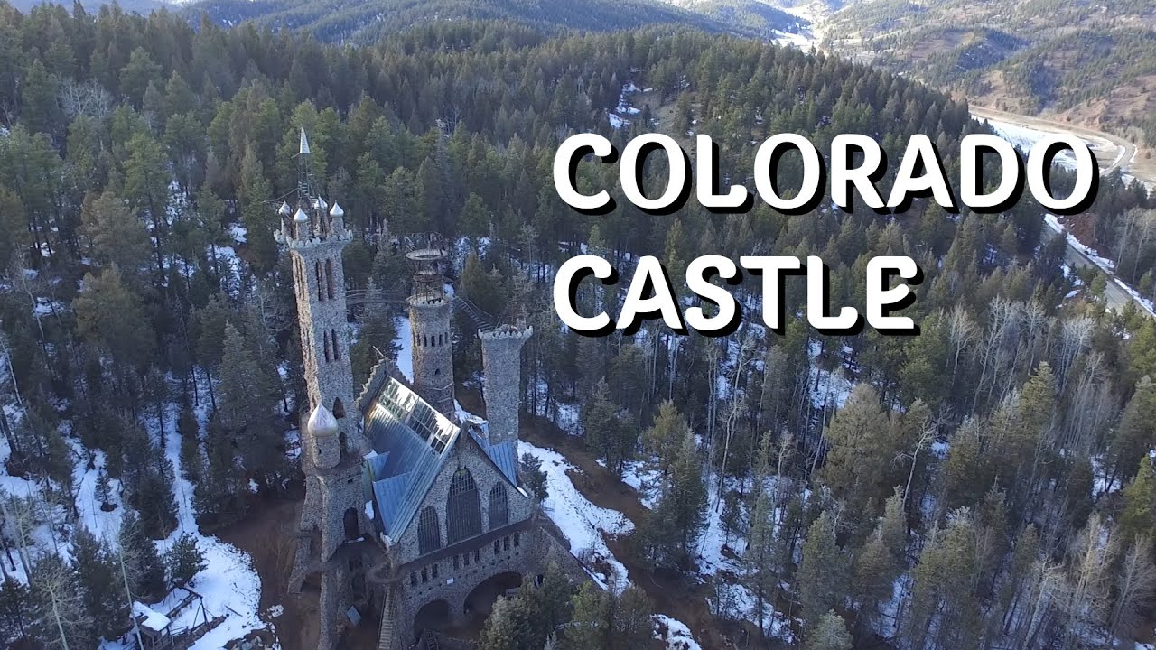 Castle in Colorado Mountains