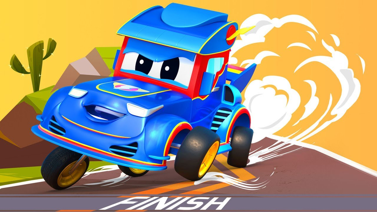 Siêu xe tải – Những tập phim hoạt hình xe đua hay nhất – Thành phố xe hơi – Hoạt hình thiếu nhi