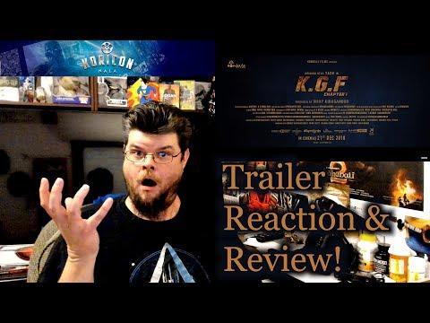 🎥 KGF - Kannada Trailer Reaction Review!