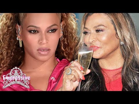 Beyonce is mad at her mother Tina Lawson. Uh oh!