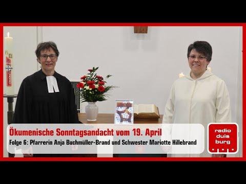 Ökumenische Sonntagsandacht aus Duisburg vom 19. April