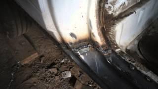 замена порогов ваз 2108 СВОИМИ РУКАМИ(Это видео создано с помощью видеоредактора YouTube (http://www.youtube.com/editor), 2015-03-08T20:58:18.000Z)