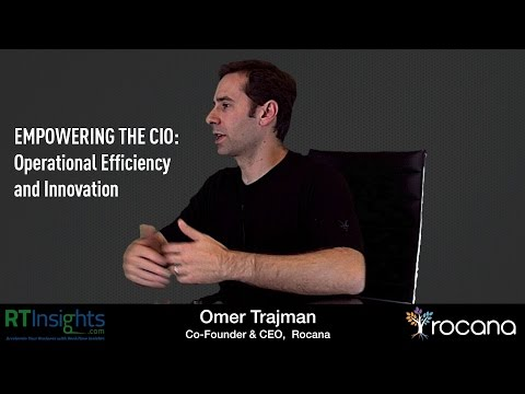 Rocana - Empowering the CIO: Operational Efficiency and Innovation
