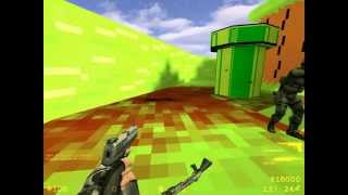 Counter Strike 1.8 GamePlay (Mario)