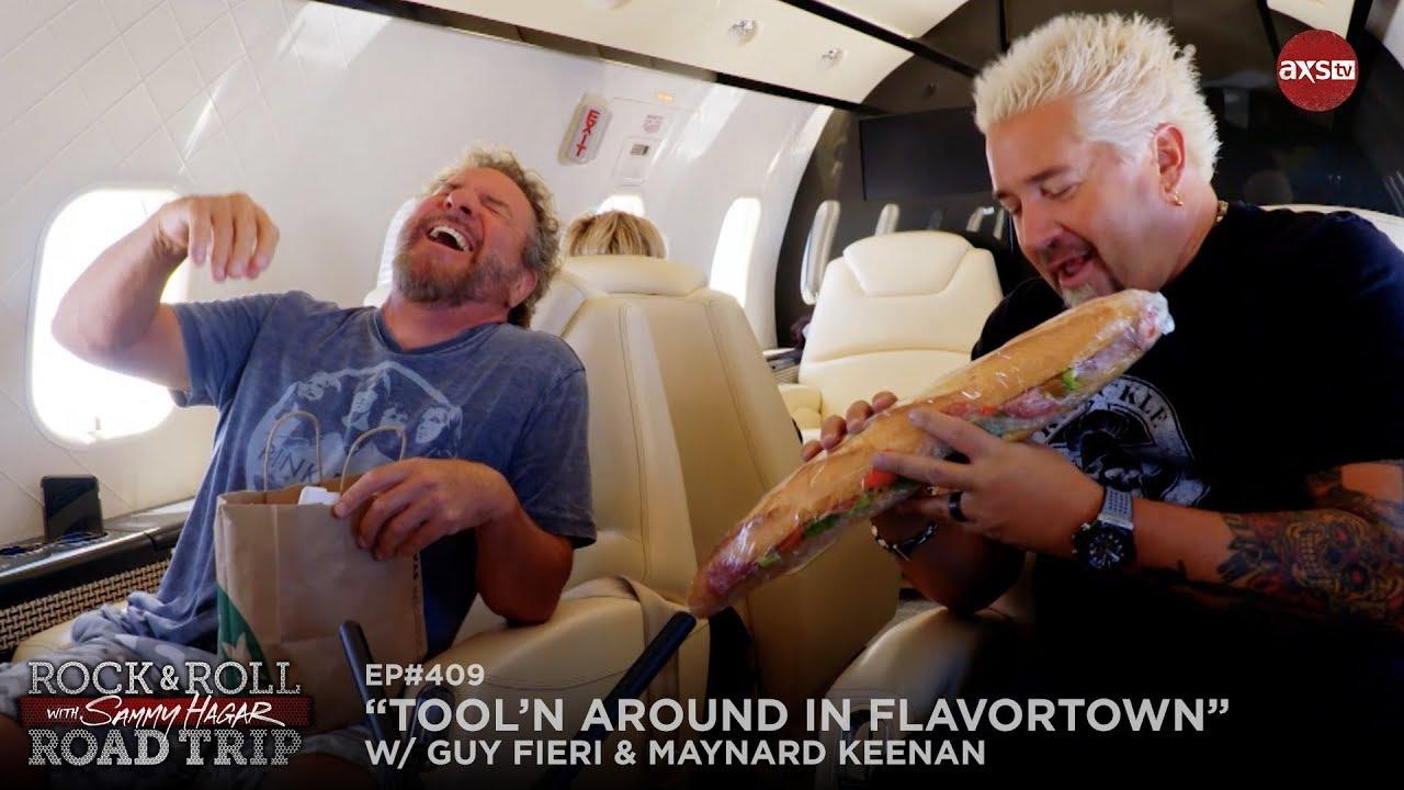 Rock & Roll Road Trip Episode 409 Sneak Peek w/ Guy Fieri & Maynard Keenan