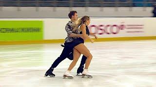 Виктория Синицина Никита Кацалапов Ритм танец Йошкар Ола Кубок России по фигурному катанию 2021