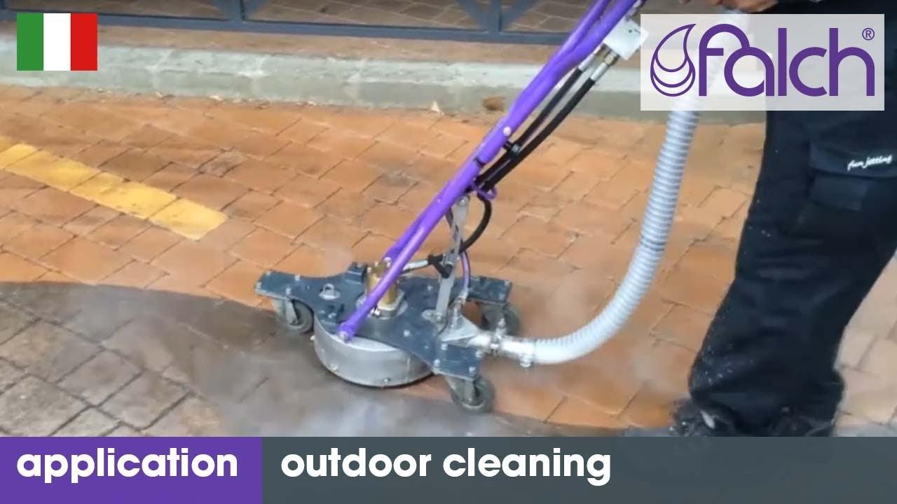 Idropulitrice ad alta pressione per la pulizia di superfici