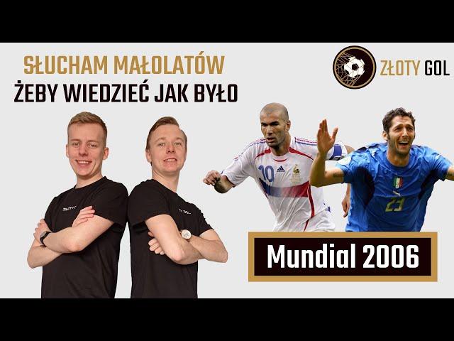 Włoska robota i koniec Zidane'a! #Mundial2006