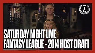 Deep Thoughts on SNL - Season 40 - Fantasy League Host Draft