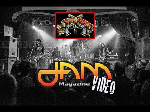 "LA GUNS ""No Mercy"" Live @ The Curtain Club Dallas TX 2017 JAM Magazine"