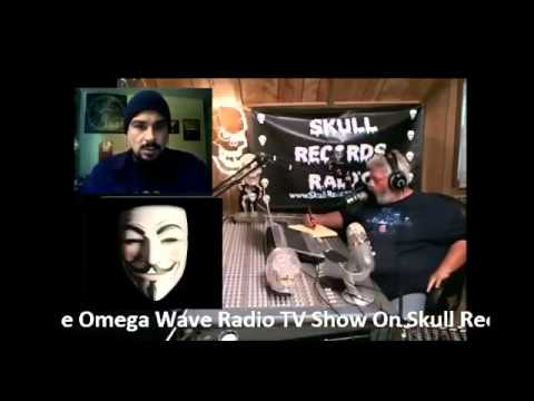 Anonymous Interview on Skull Records Radio's Omega Wave Radio TV Show