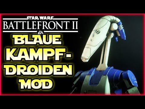 Blaue Kampfdroiden Mod! - Star Wars Battlefront 2 - Mod Mods deutsch Tombie thumbnail