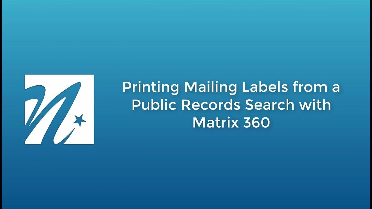 Matrix 360 — NorthstarMLS