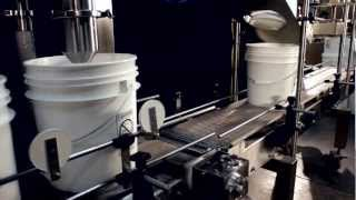 Pacific Packaging - Inline Filling & Lidding System, Single Station Net Weight for Yogurt Pails