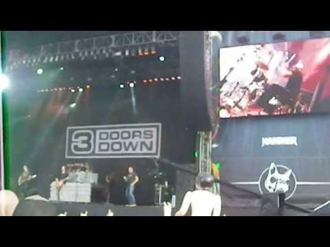 3 Doors Down Kryptonite  Download Festival 2013