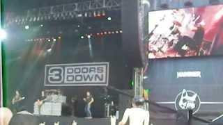 "3 Doors Down ""Kryptonite"" - Download Festival 2013"