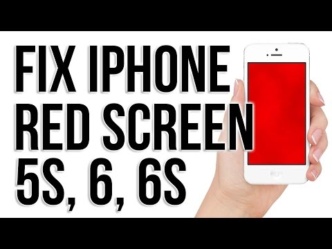 Red/ Blue Screen fix Red scrern iphone 5, 5s, 6 AND 6s.